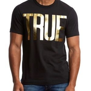 Men's True Religion Logo Tee